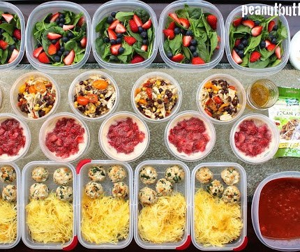 Meal Prep – From a week long, long ago