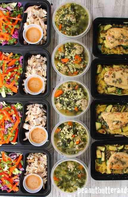 Meal Prep – Week of October 24th, 2016