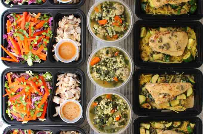 Meal Prep – Week of October 24th, 2016