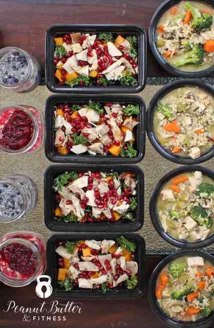Meal Prep – Week of November 28th, 2016