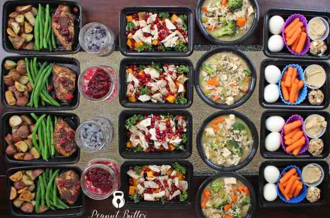 Meal Prep – Week of November 28th, 2016