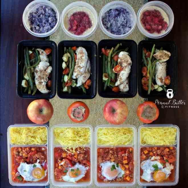 Meal Prep – Week of December 18th, 2016