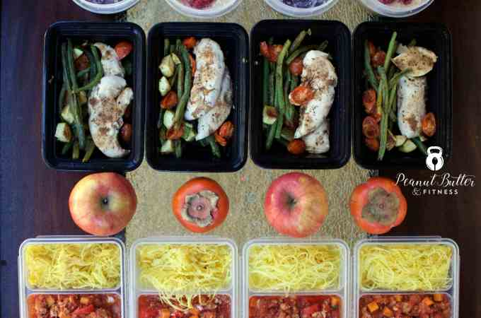 Meal Prep – Week of December 18th, 2016