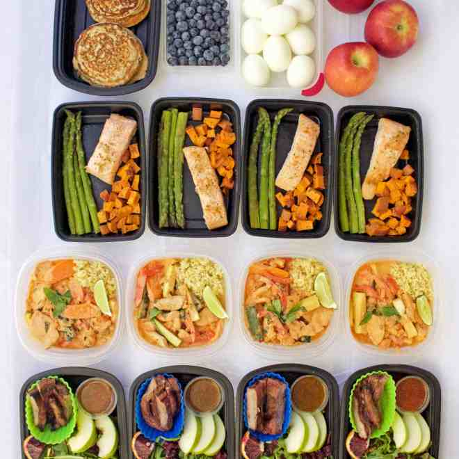 Meal Prep – Week of March 13th, 2017