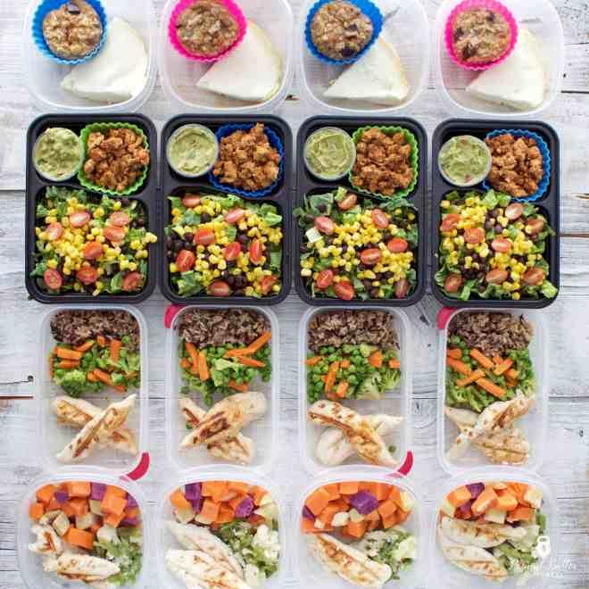 Meal Prep – Week of July 24, 2017
