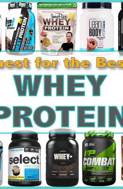 Quest for the Best – Whey Protein