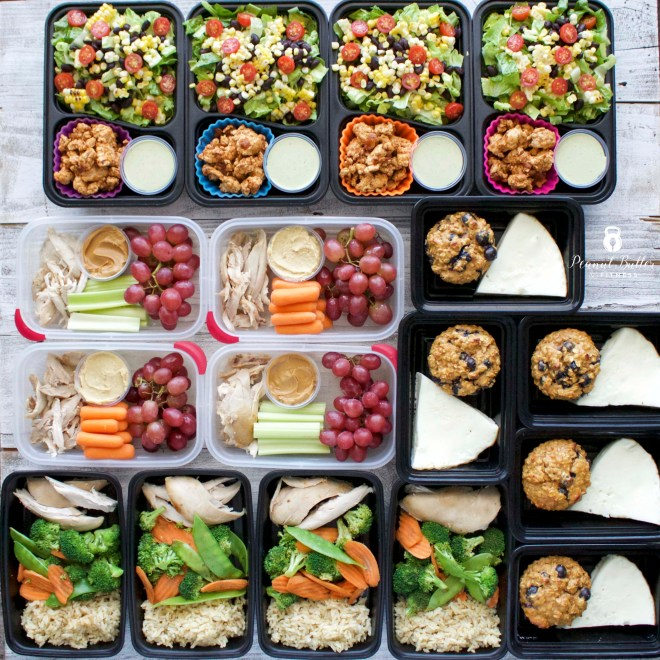 Meal Prep – Week of October 23, 2017