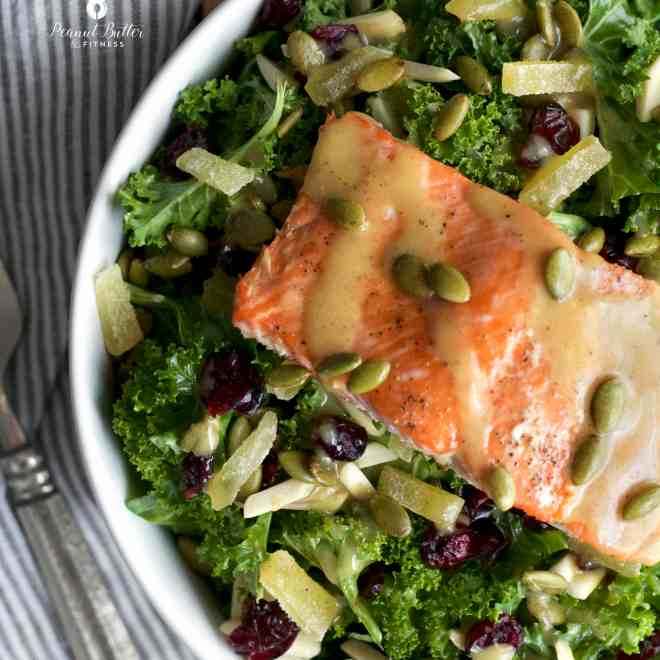 Harvest Ginger Salad with Salmon