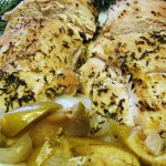 Baked Chicken and Apples