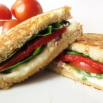 Wheat Bread and Caprese Sandwich