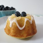 Blueberry Lemon Mini Bundt Cakes