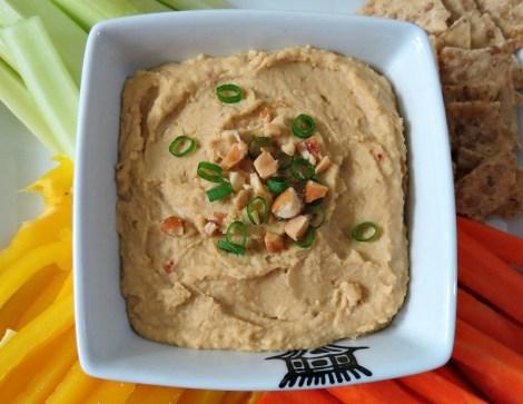 Thai Peanut Butter Hummus