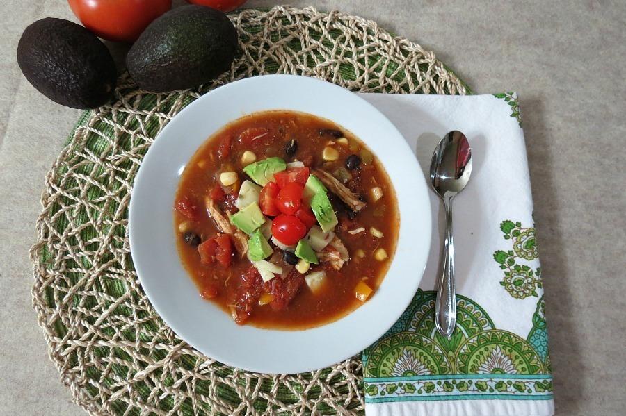 Southwestern Chicken Soup