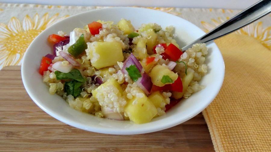 Pineapple and Quinoa Salad