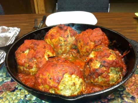 Firehouse Dews Meatballs