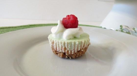 Mini Lime Cheesecake Bites