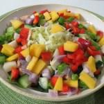 Polynesian Salad – #SundaySupper