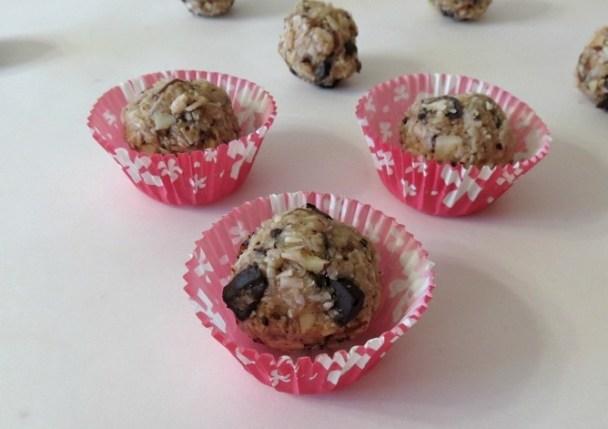 Almond Joy Cookie Balls