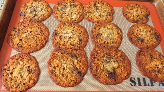 Almond Joy Cookie Flops