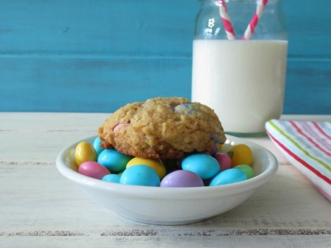 Coconut and M&Ms Cookies