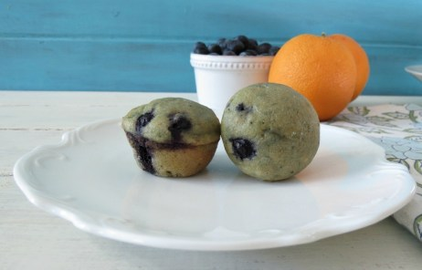 Mini Blueberry Orange  Muffins