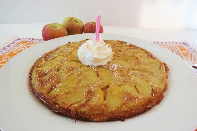 Whole Wheat Apple Yogurt Pancake