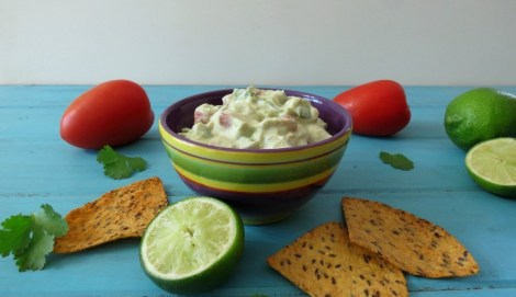 Lightened Up Guacamole