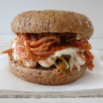 Buffalo Shredded Chicken Burger – SRC