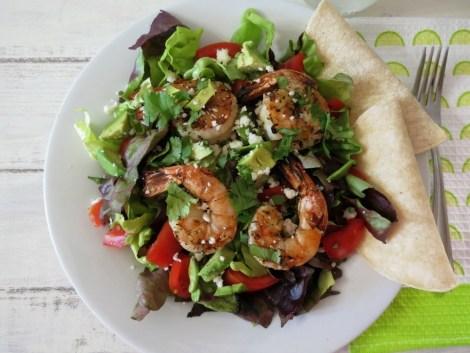 Garlic Lime Shrimp Salad