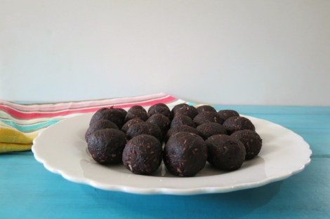 Fudgy Chocolate Banana Truffle