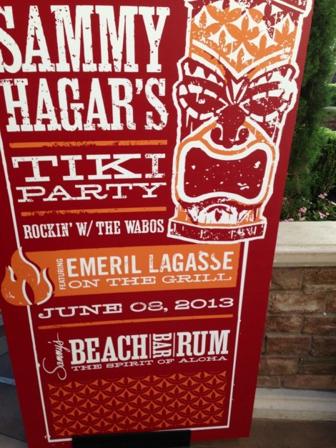 Sammy Hagar and Emeril's Tiki Party