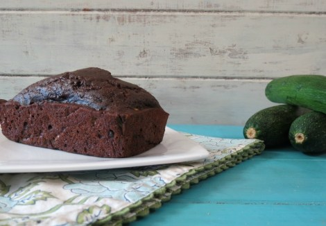 Lightened Up Chocolate Chip Zucchini Bread