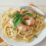 Lemon Infused Shrimp Scampi Pasta