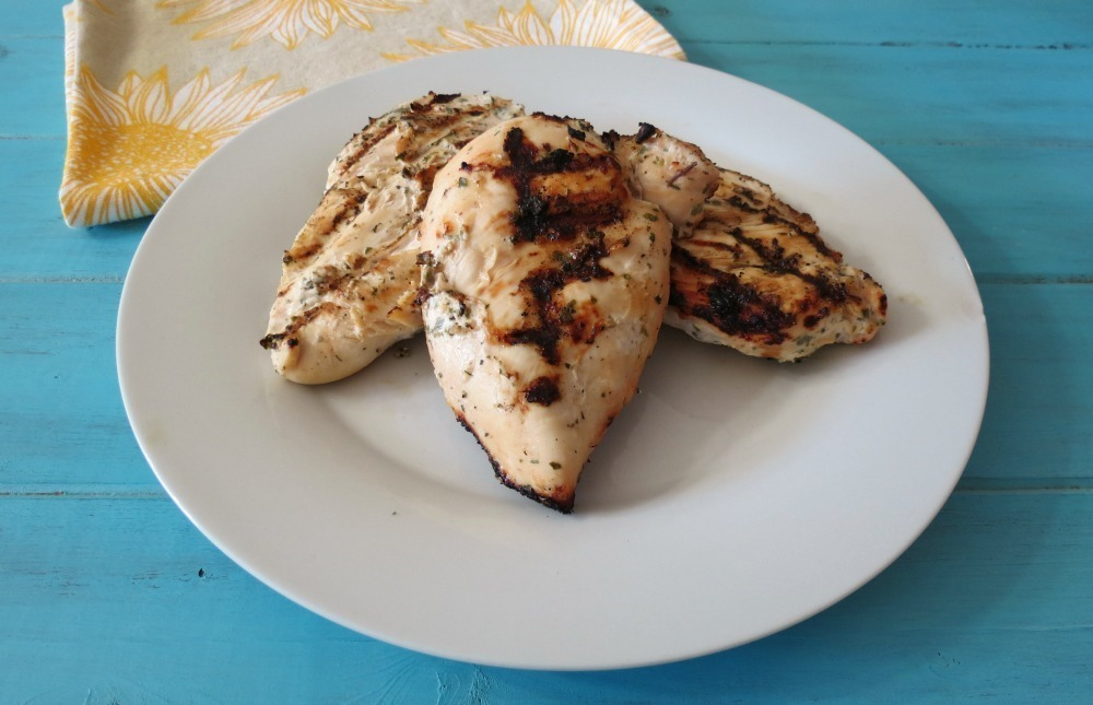 Yogurt Marinated Grilled Chicken | Peanut Butter and Peppers