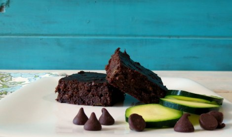 Chocolate Zucchini Beanie Brownie