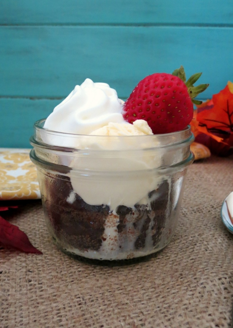 Gluten Free Brownies in a Jar