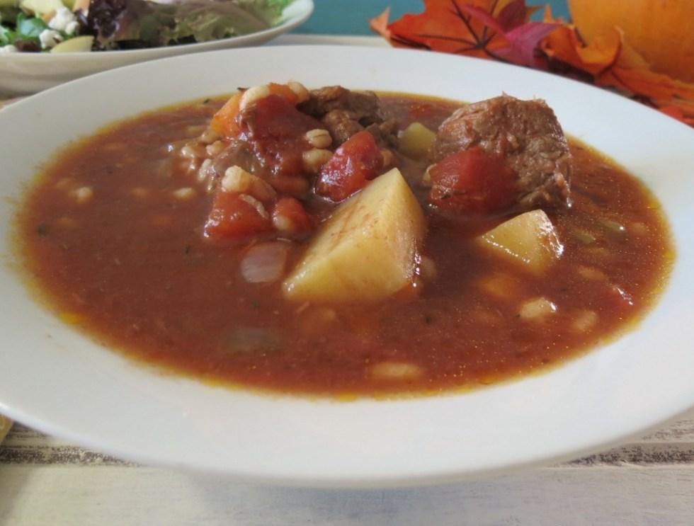Beef and Barley Soup - Crockpot