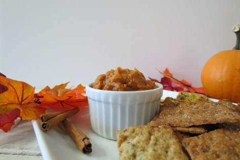 Pumpkin Pie Hummus