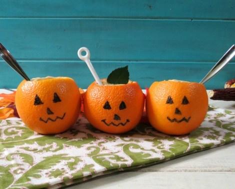 Pumpkin Pudding Cups