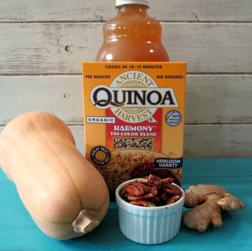 Winter Harvest Quinoa Oatmeal Ingredients