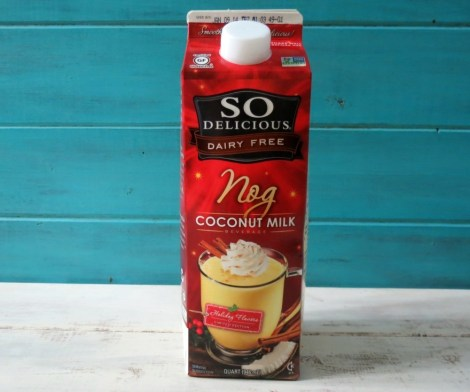 So Delicious Seasonal Eggnog