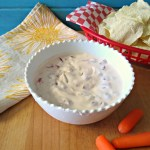 Roasted Red Pepper Yogurt Dip