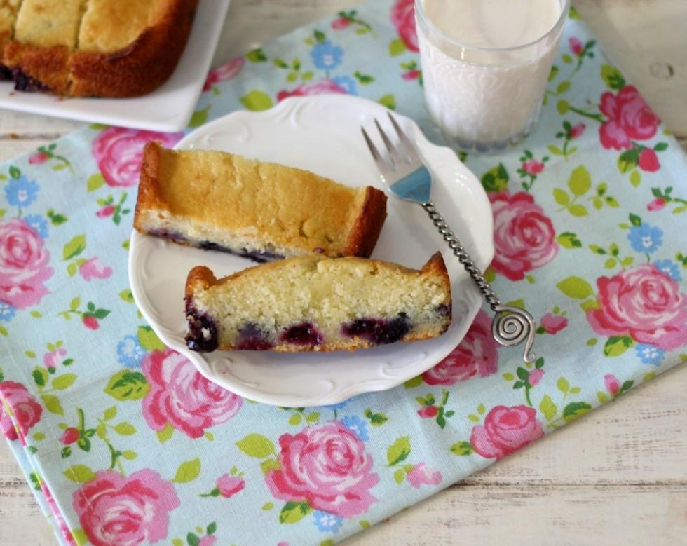 Blueberry Cake Loaf