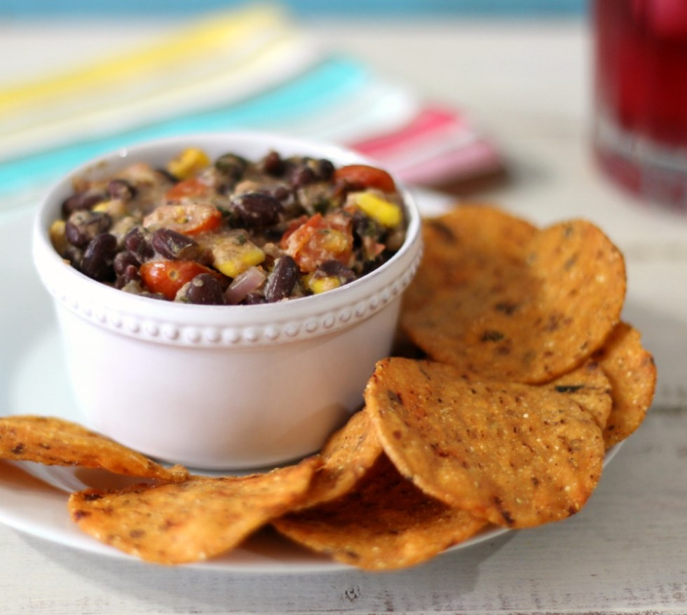 Hot Black Bean Dip