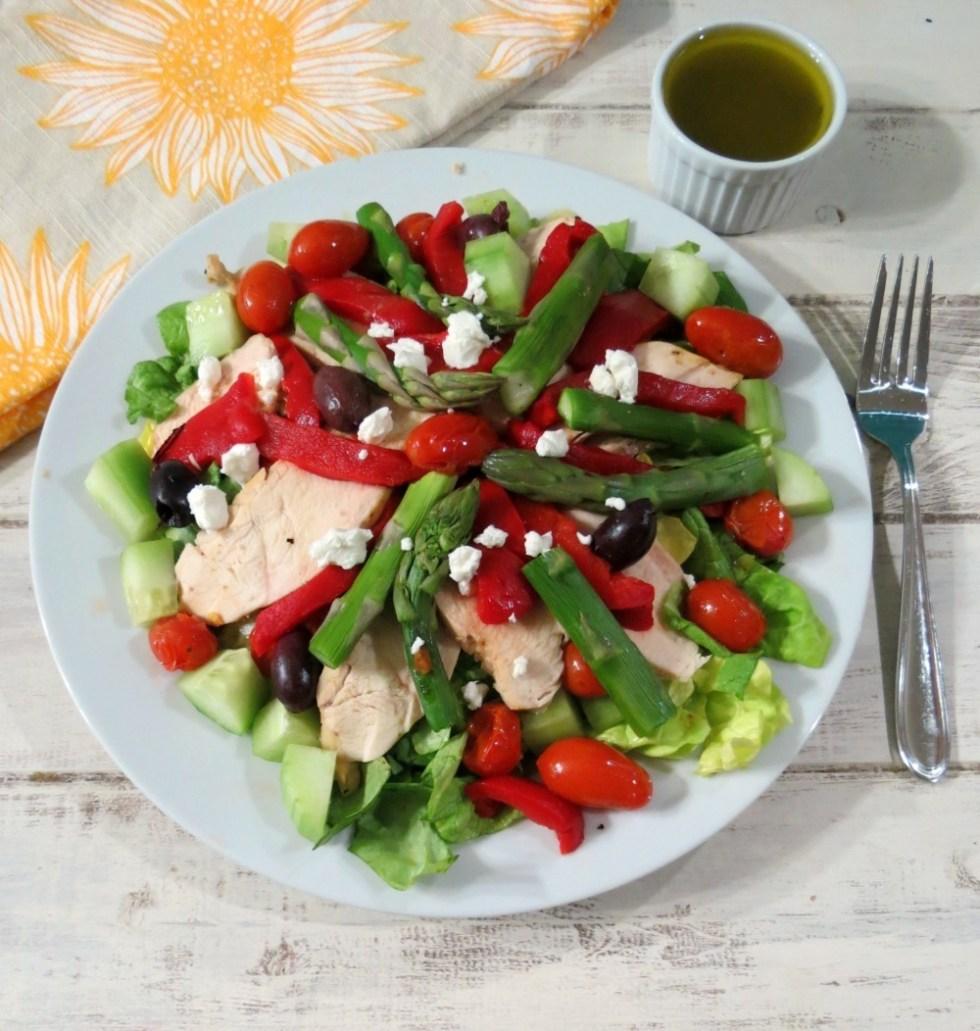 Warmed Greek Salad