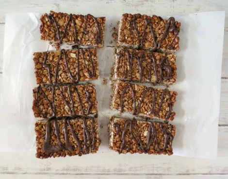 Chocolate, Almond & Coconut Cereal Bars