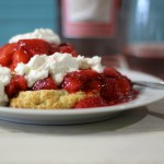 Pink Moscato Infused Strawberry Shortcake #SundaySupper