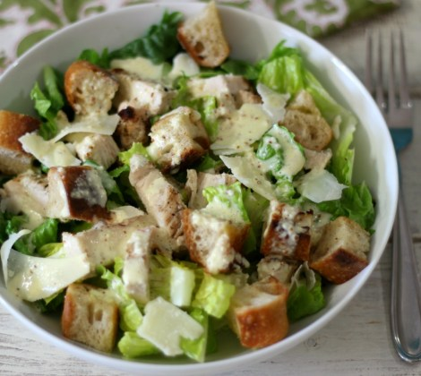 Chicken Caesar Salad #SundaySupper