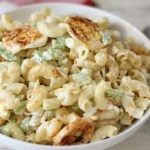 Lightened Up Macaroni Salad #SundaySupper