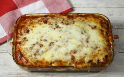 Zucchini Meat Lasagna
